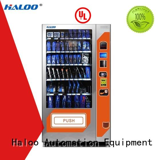 Haloo anti-theft beverage vending machine customized for drink