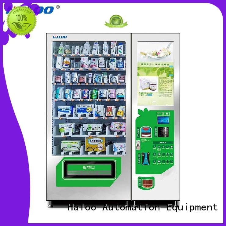 Haloo healthy vending machines series for merchandise