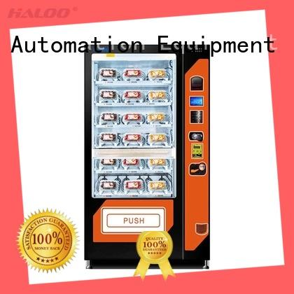 Haloo automatic fruit vending machine factory for fragile goods