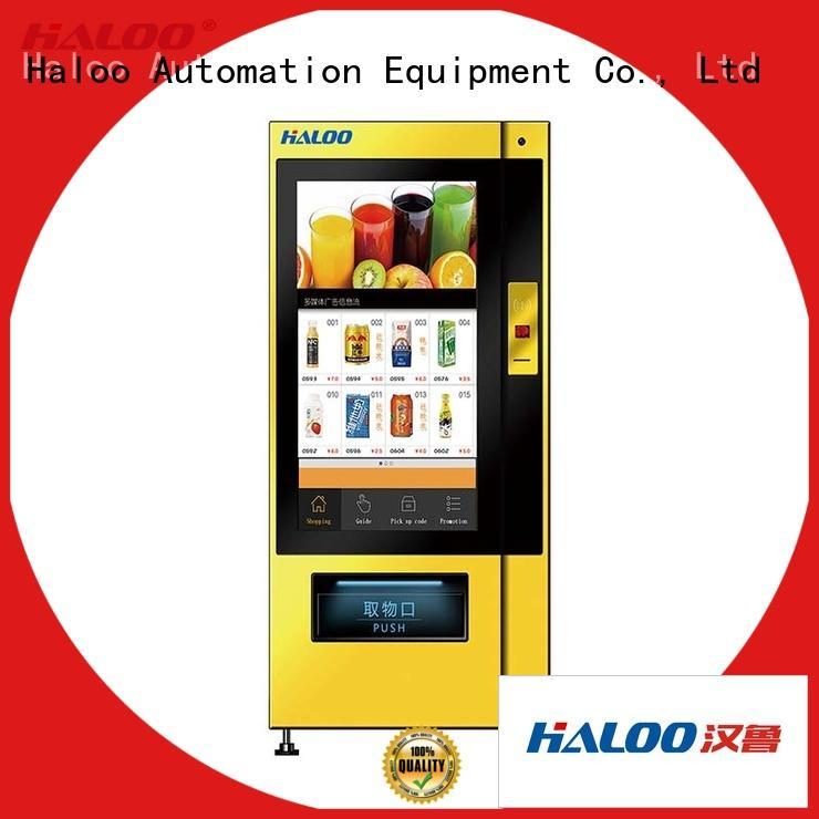 Haloo intelligent vending machine price series for merchandise