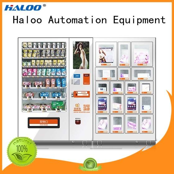 convenient condom vending machine for sale factory direct supply for pleasure Haloo
