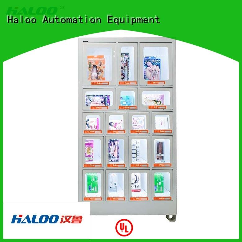 Haloo convenient food vending machines series for drinks