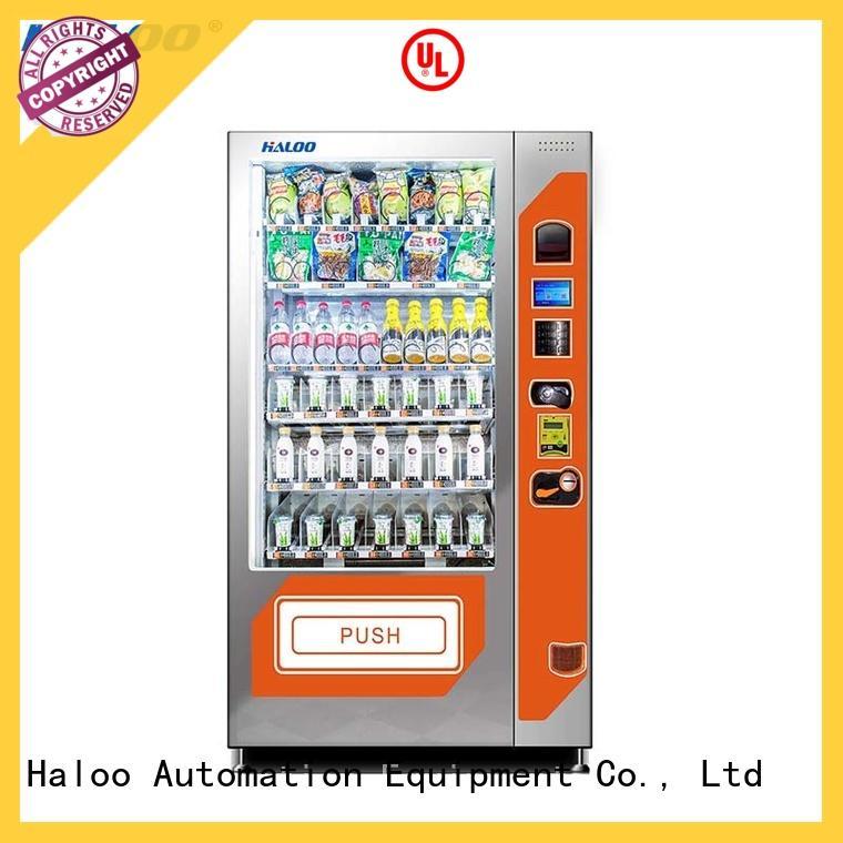 Haloo convenient sandwich vending machine factory for fragile goods