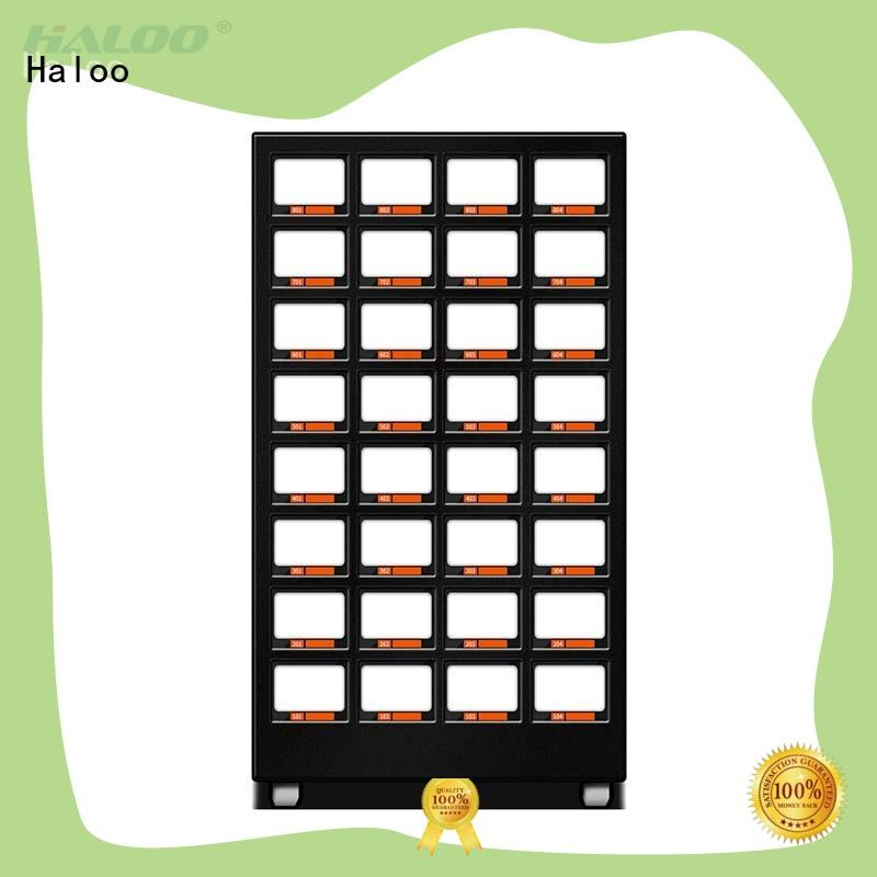 Haloo power-off protection healthy vending machine snacks design for drinks