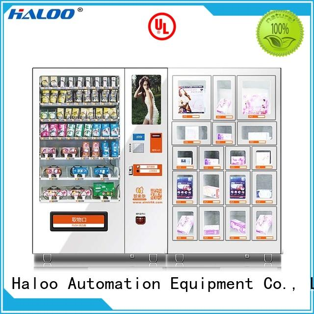 Haloo condom dispenser wholesale for adults