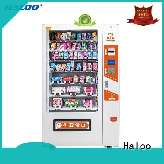 Haloo automatic condom vending factory direct supply for pleasure