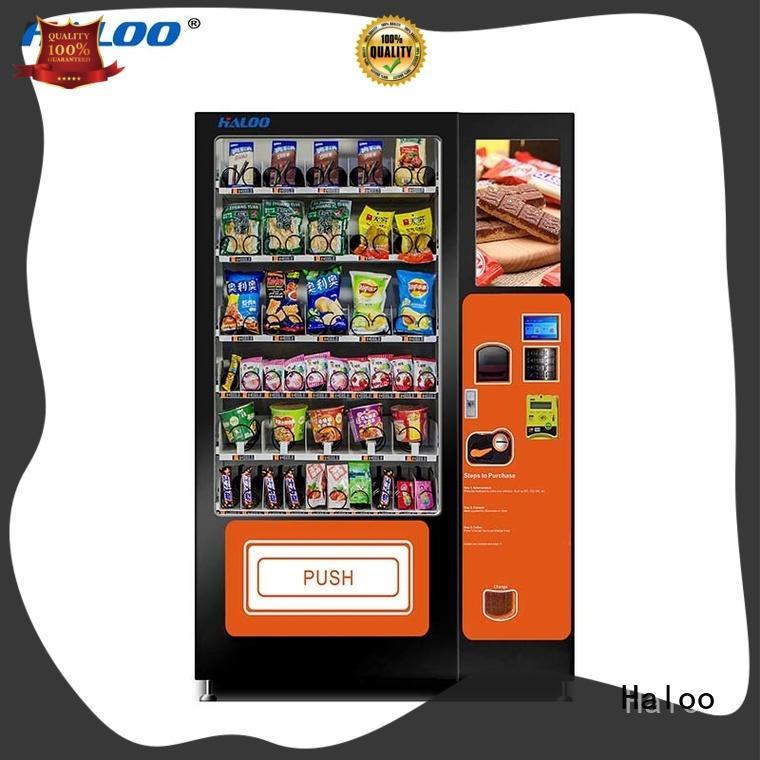 Haloo soda vending machine series for shopping mall