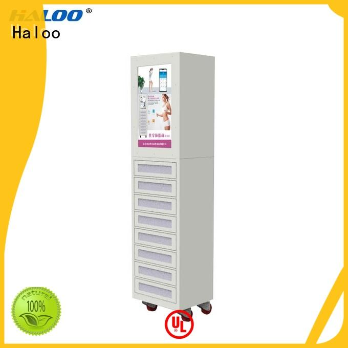 Haloo cigarette vending machine customized for purchase