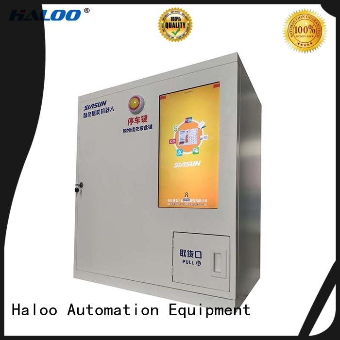 Haloo power-off protection robot vending machine customized for garbage cycling