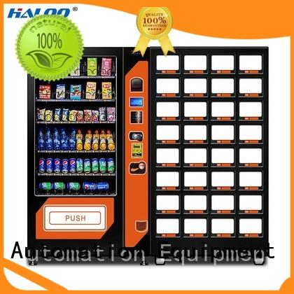 Haloo chocolate vending machine design for snack
