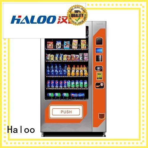 Haloo high capacity coffee vending machine factory direct supply for food