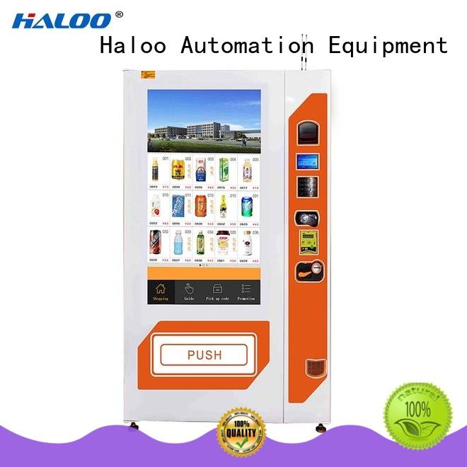 Haloo cost-effective healthy vending machines wholesale