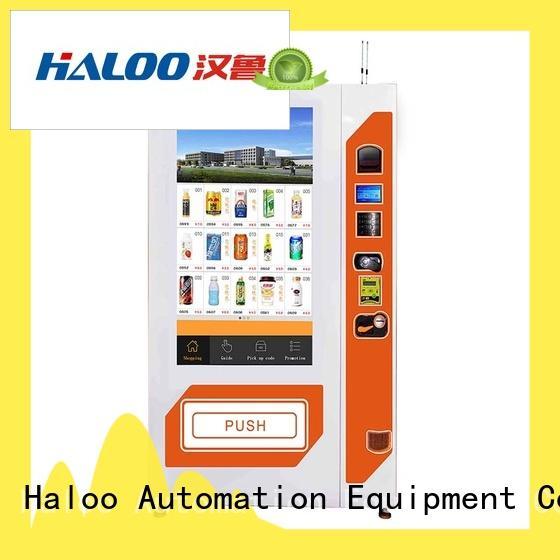 intelligent snack vending machine design for shopping mall