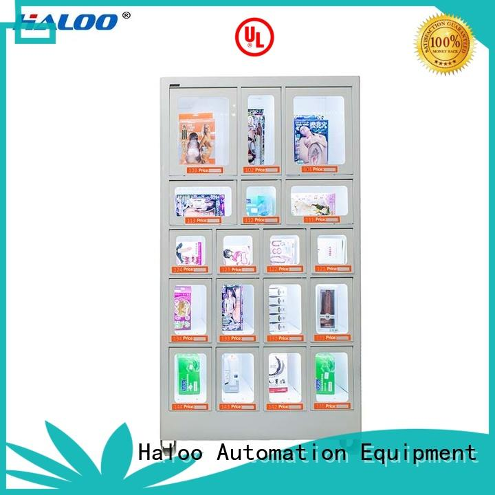 high capacity box vending machine wholesale for adult toys Haloo