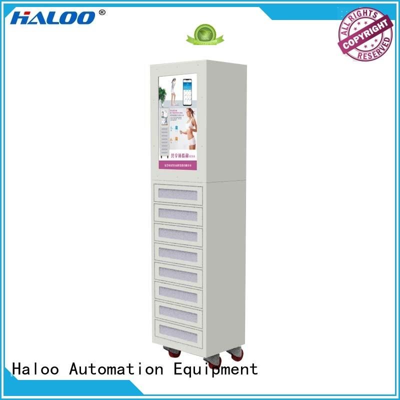Haloo smart remote management vending kiosk wholesale for lucky box gift