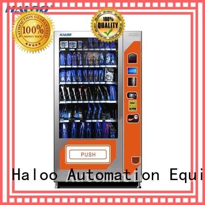 Haloo cold drink vending machine customized for food
