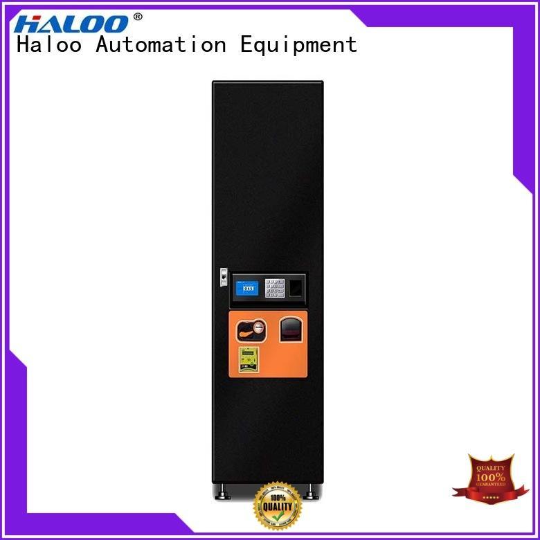 Haloo drink vending machine design for merchandise