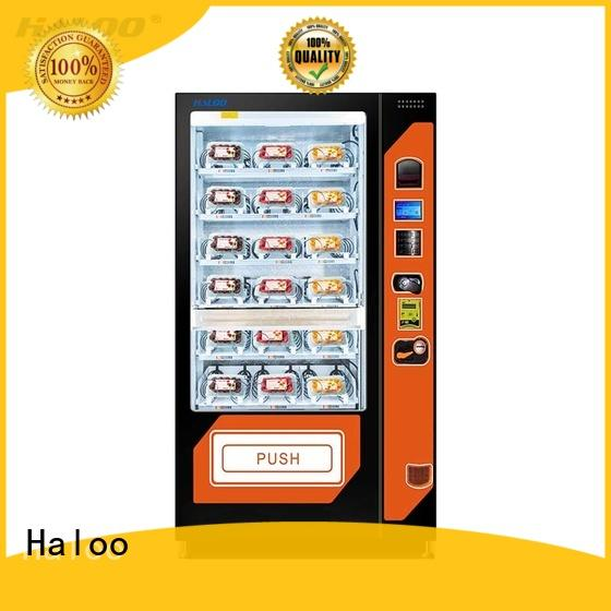 Haloo automatic cool vending machines manufacturer