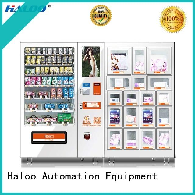Haloo condom vending machine for sale directly sale for shopping mall
