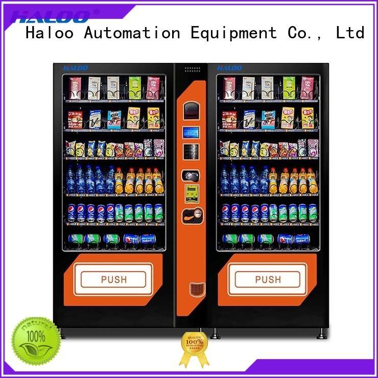 beverage vending machine design for snack Haloo