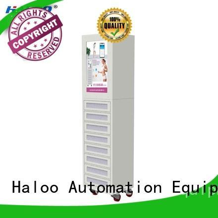 Haloo energy saving robot vending machine customized for purchase