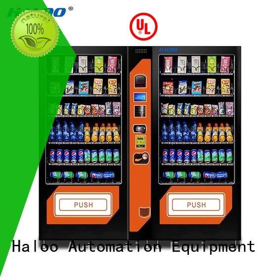 DLE-10C+PLE-10A Drink &snack vending machine black