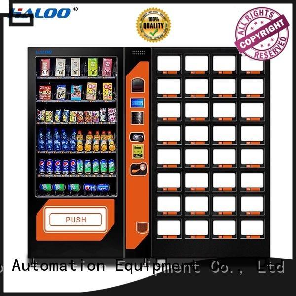 Haloo high capacity soda snack vending design for drink