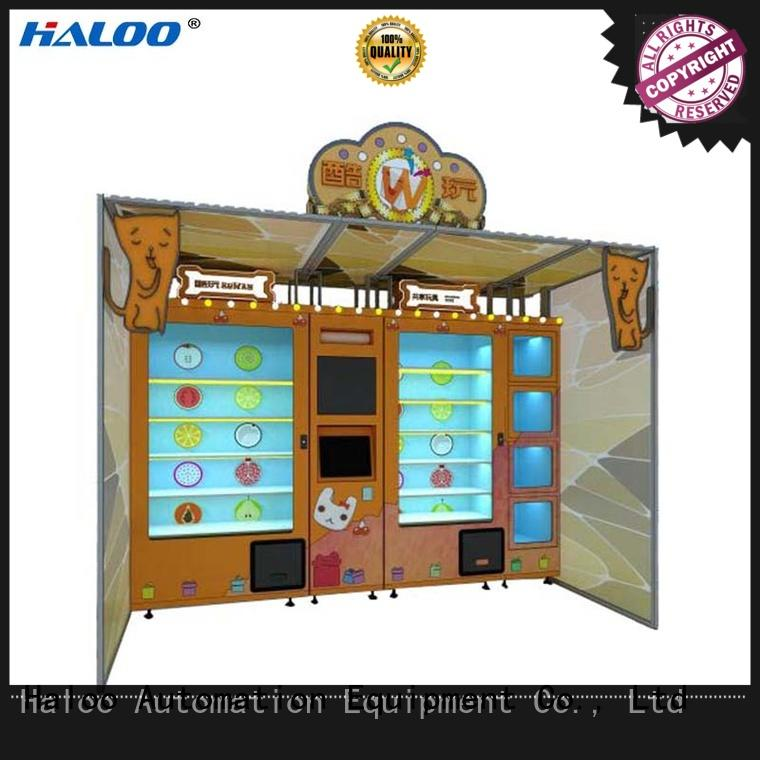 Haloo robot vending machine customized for garbage cycling
