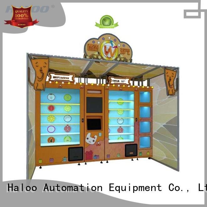 Haloo energy saving lucky box vending machine manufacturer for lucky box gift
