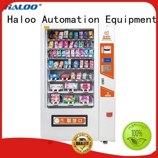 Haloo convenient condom dispenser customized language for pleasure