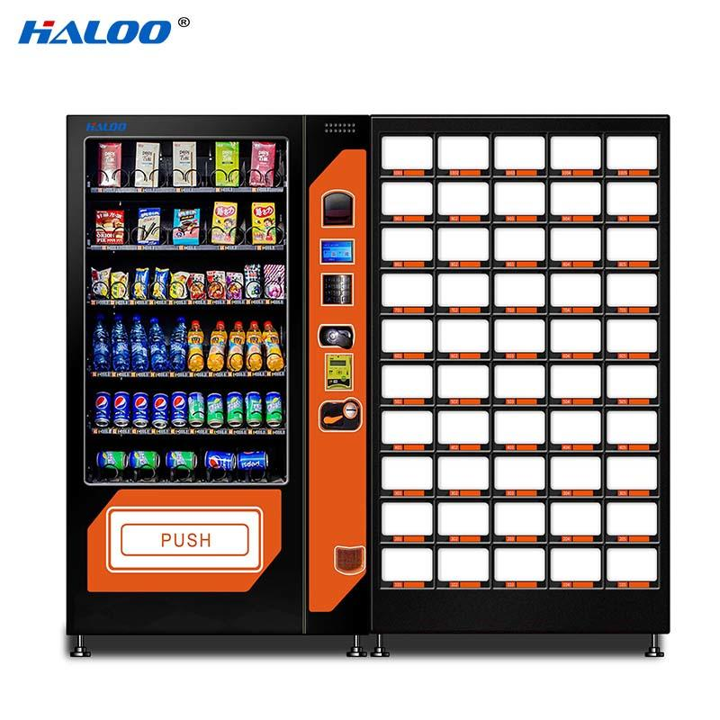 Haloo high capacity soda snack vending design for drink-1