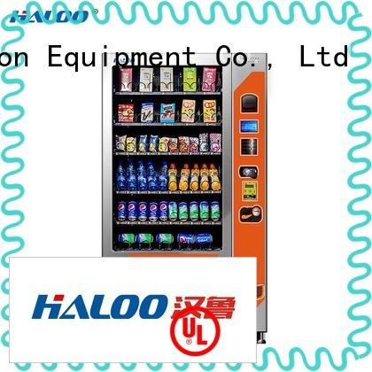 Haloo combo vending machines wholesale for snack