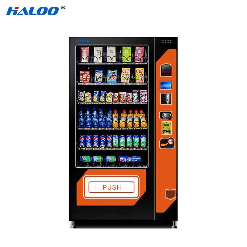 Haloo compact combo vending machines wholesale for food-2