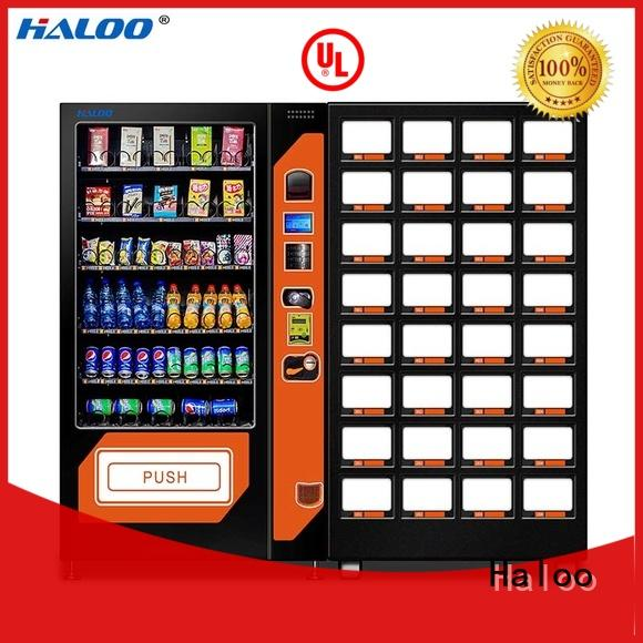 anti-theft snack dispenser machine factory direct supply for drink Haloo