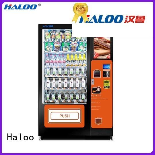 Haloo snack machine design for drinks