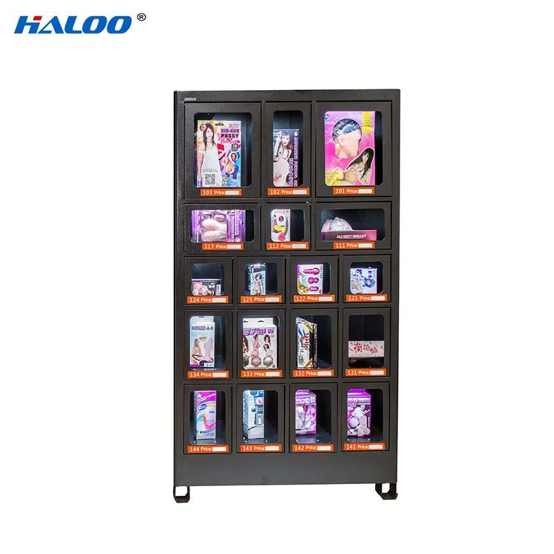 Haloo convenient food vending machines series for drinks-2