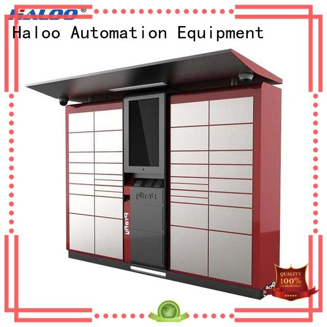 Haloo robot vending machine factory direct supply for lucky box gift