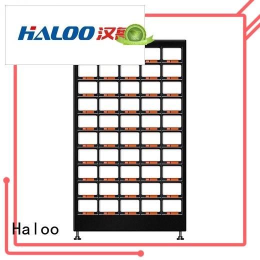 Haloo convenient candy vending machine wholesale for red wine