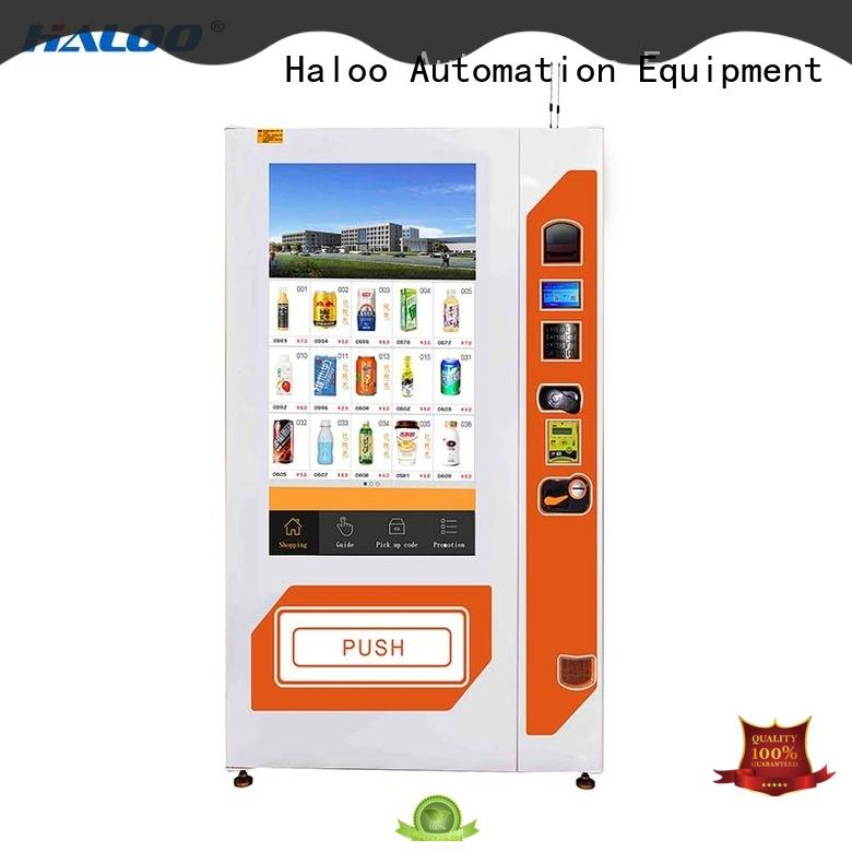 Haloo touch screen vending machine price factory