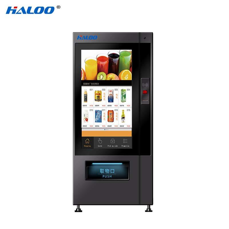 Haloo touch screen vending machine price series for shopping mall-2
