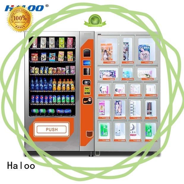 Haloo condom machine directly sale for pleasure