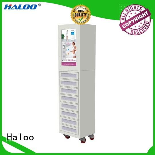 Haloo cost-effective vending kiosk customized for garbage cycling