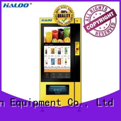 Haloo vending machine price factory for shopping mall