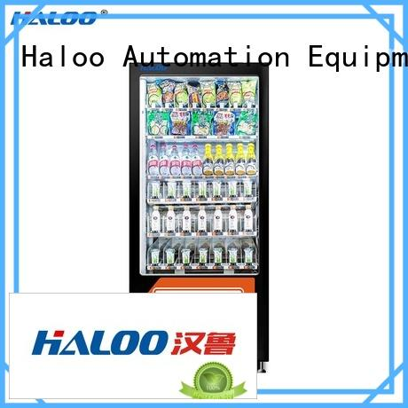 Haloo food vending machines supplier for adult toys