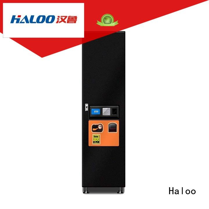 Haloo GPRS remote manage drink vending machine factory