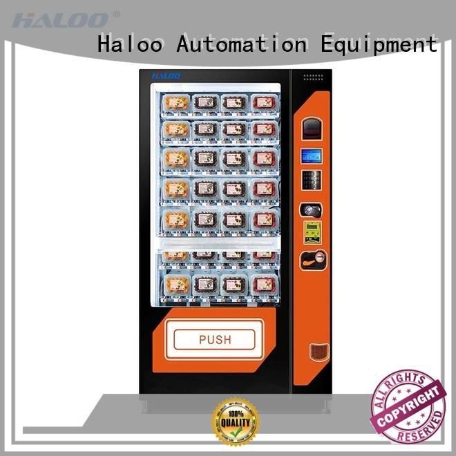 Haloo large capacity sandwich vending machine design for fragile goods