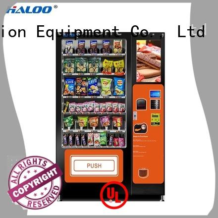 Haloo drink vending machine series for merchandise