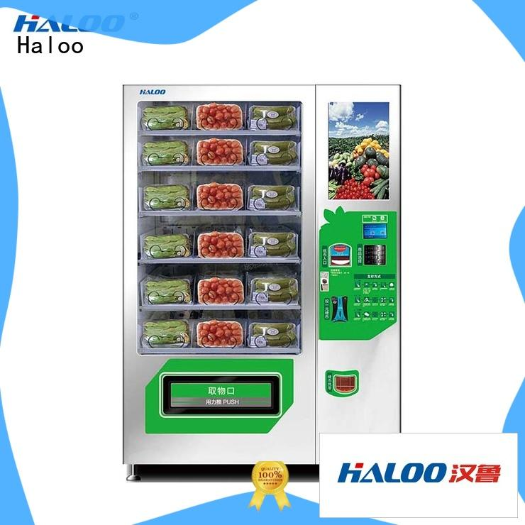 Haloo large capacity water vending machine design for fragile goods