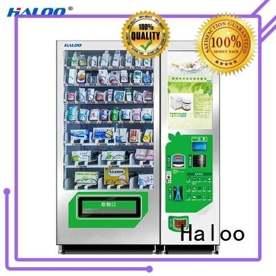 Haloo anti-theft snack vending machine wholesale