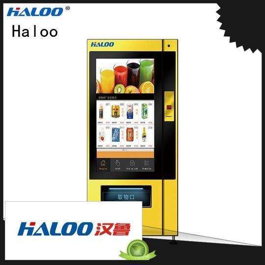 Haloo smart snack vending machine wholesale